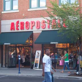 Aéropostale is listed (or ranked) 22 on the list The Best Teenage Fashion Brands