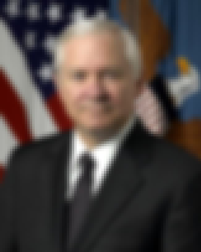 Robert Gates is listed (or ranked) 2 on the list Famous Wichita High School East Alumni