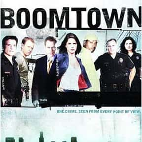 Boomtown is listed (or ranked) 20 on the list The Greatest TV Shows That Parody Hollywood