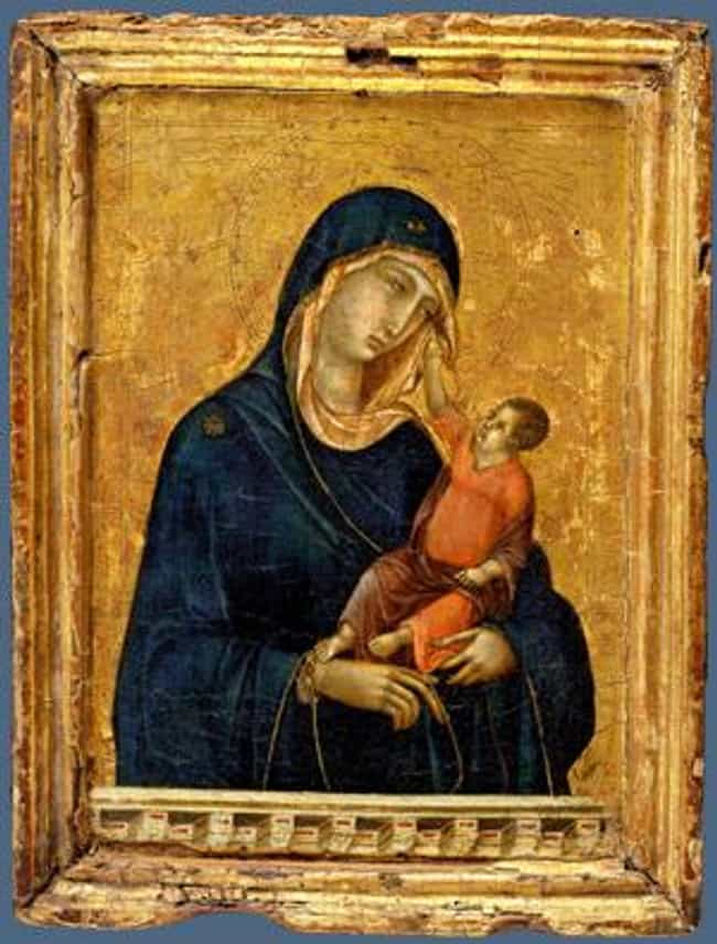 Madonna and Child is listed (or ranked) 7 on the list Famous Madonna and Child Art