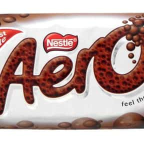 Aero is listed (or ranked) 22 on the list The Best Chocolate Bars