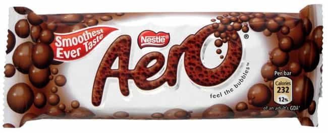 Aero is listed (or ranked) 1 on the list Popular Candy Sold in United Kingdom
