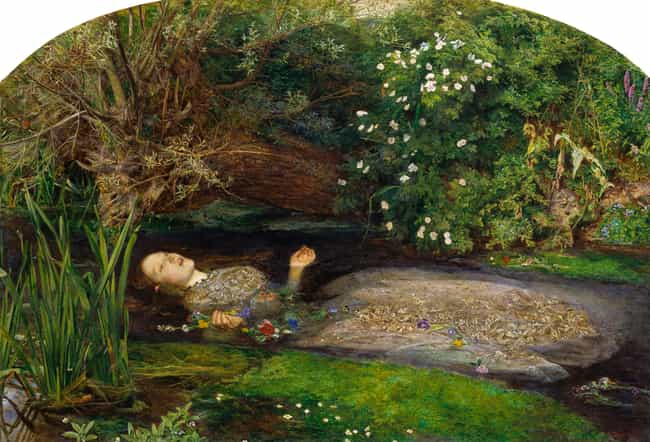 Ophelia Is Listed Or Ranked 1 On The List Famous Art