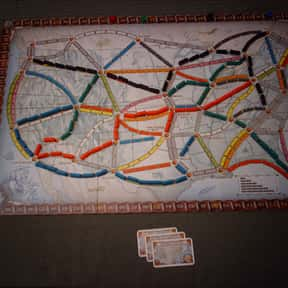 Ticket to Ride is listed (or ranked) 2 on the list The Best Board Games of All Time