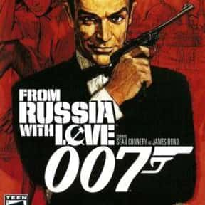 From Russia with Love is listed (or ranked) 4 on the list The Best James Bond Games