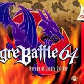 Ogre Battle 64: Person of Lord is listed (or ranked) 4 on the list The Best Nintendo 64 RPGs