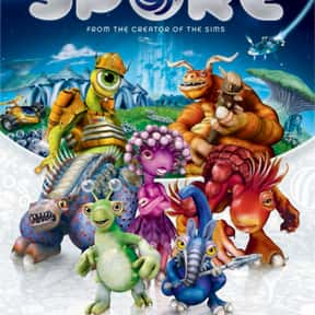 Spore is listed (or ranked) 13 on the list The Best Life Simulation Games of All Time
