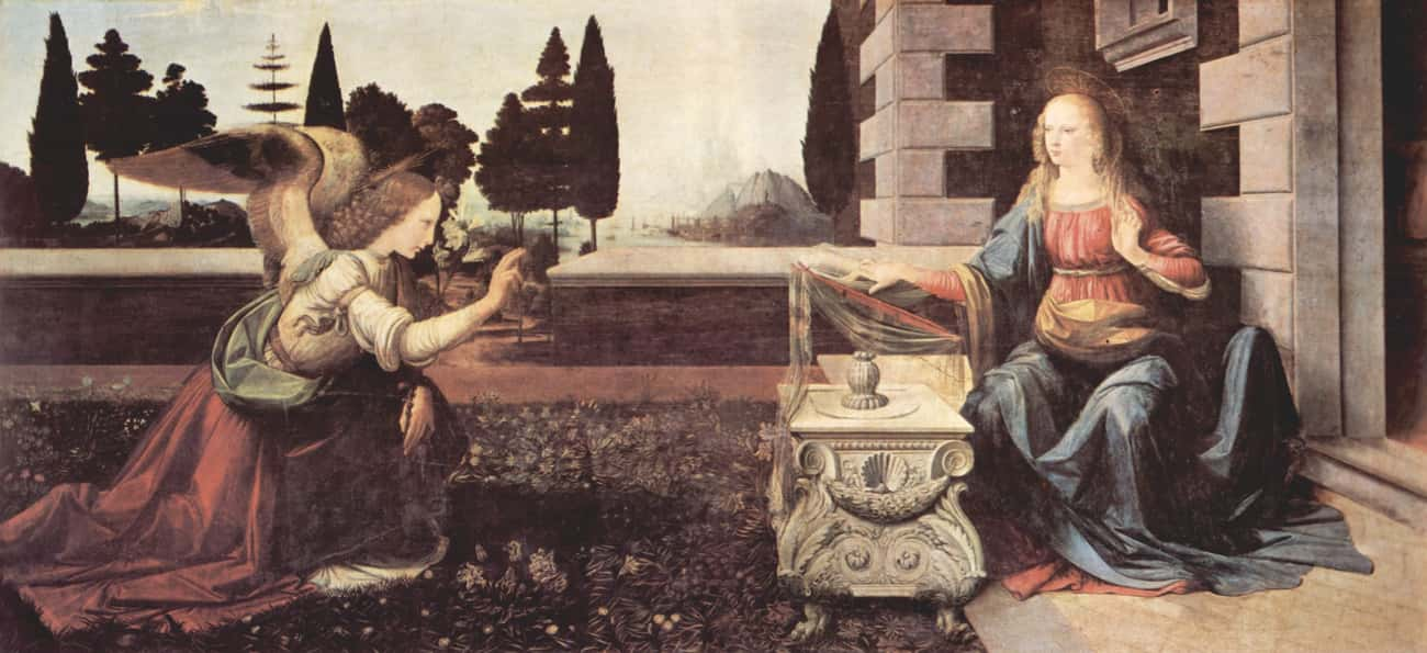 Annunciation is listed (or ranked) 1 on the list Famous Italian Renaissance Paintings
