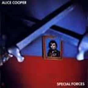 Special Forces is listed (or ranked) 21 on the list The Best Alice Cooper Albums of All Time