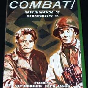 Combat! is listed (or ranked) 9 on the list The Best Military TV Shows