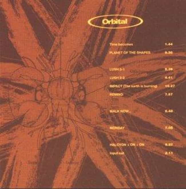Orbital 2 is listed (or ranked) 2 on the list The Best Orbital Albums of All Time