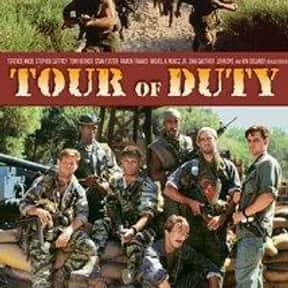 Tour of Duty is listed (or ranked) 15 on the list The Best Military TV Shows