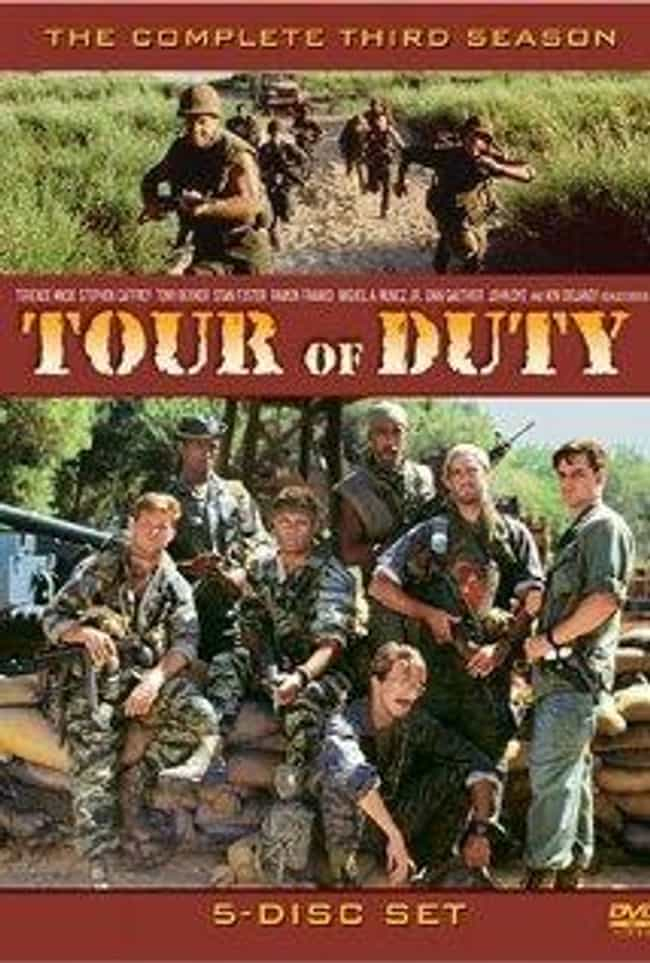 Tour of Duty is listed (or ranked) 3 on the list The Best 1980s Military TV Shows