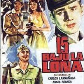 15 bajo la lona is listed (or ranked) 2 on the list List of All Movies Released in 1959