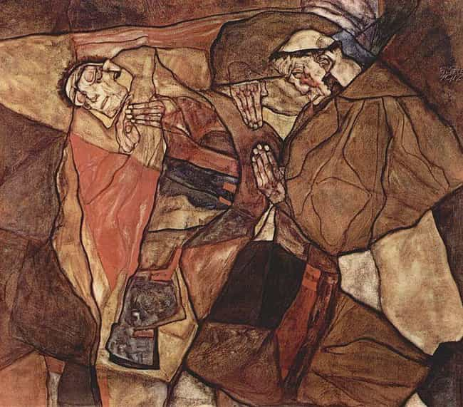 Agony (The Death Struggl... is listed (or ranked) 1 on the list Famous Expressionism Artwork