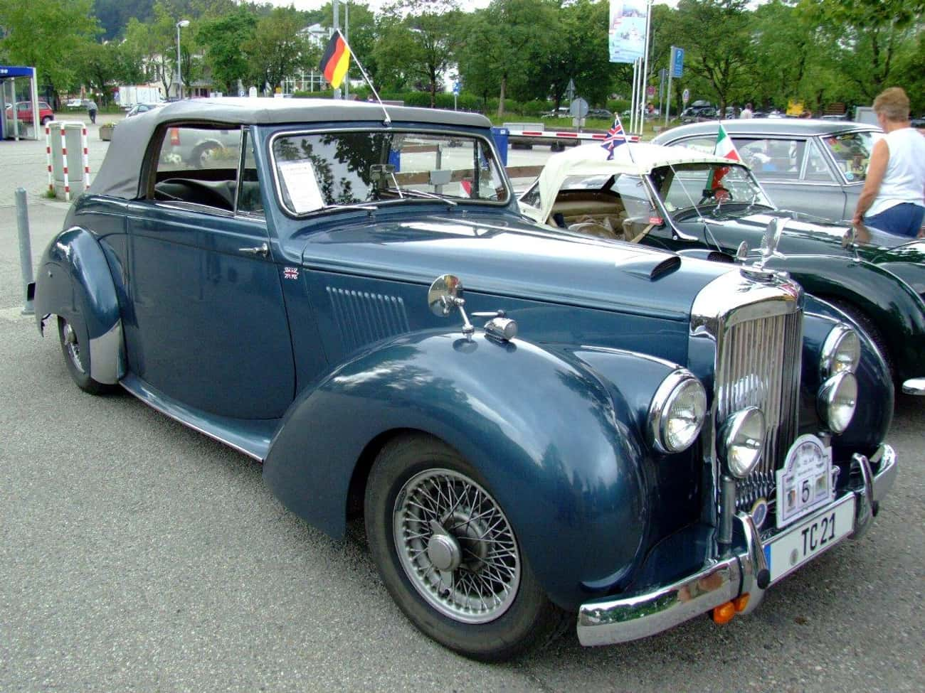 Alvis TC 21 is listed (or ranked) 2 on the list Full List of Alvis Cars Models