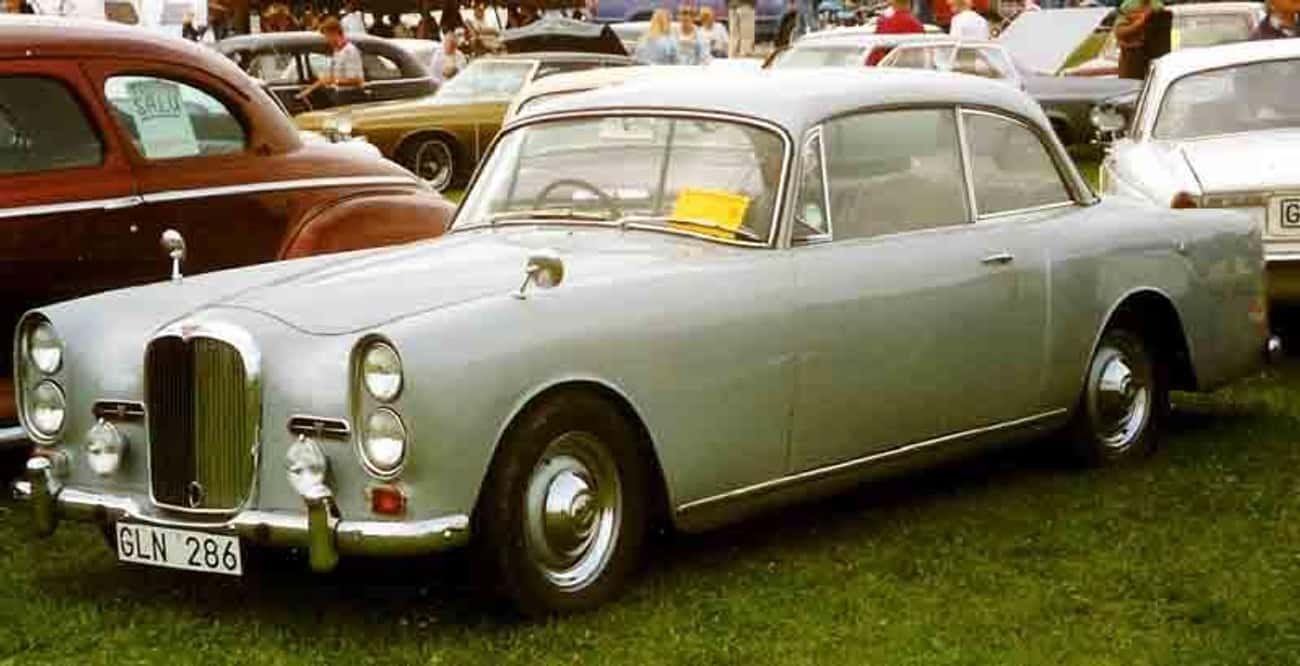Alvis TE 21 is listed (or ranked) 4 on the list Full List of Alvis Cars Models