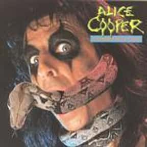 Constrictor is listed (or ranked) 5 on the list The Best Alice Cooper Albums of All Time