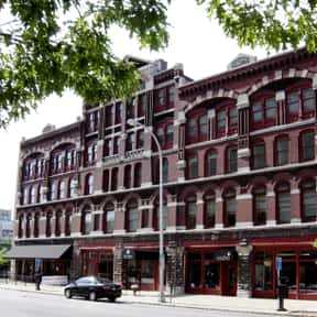 Amos Block is listed (or ranked) 7 on the list Famous Romanesque Revival Architecture Buildings