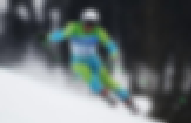 Andrej Križaj is listed (or ranked) 4 on the list Famous Alpine skiers from Slovenia