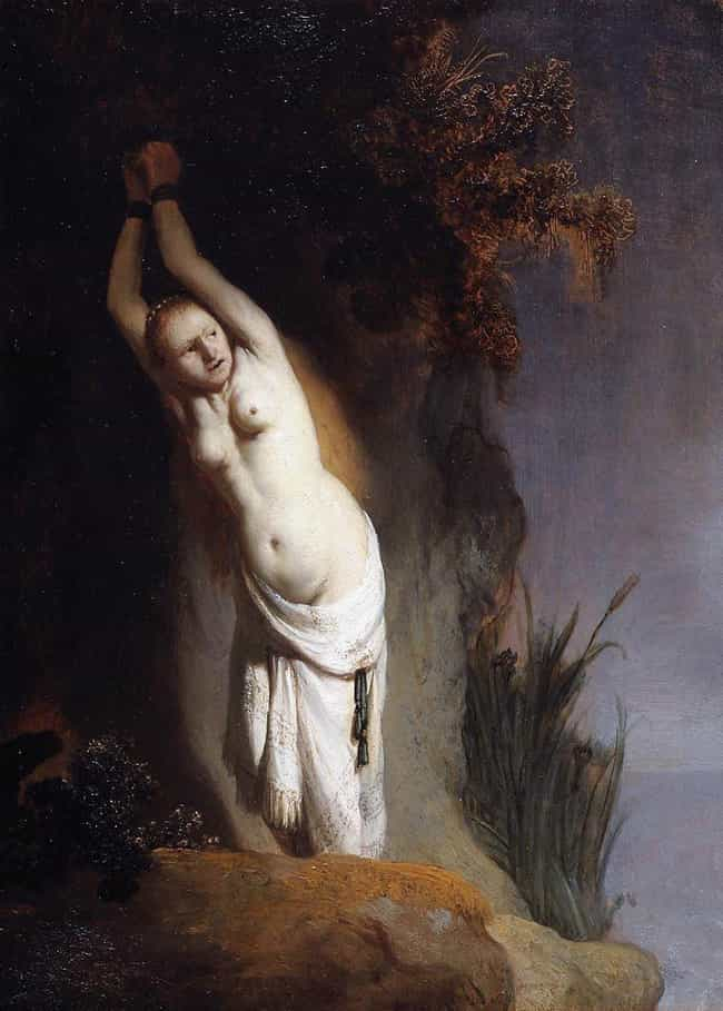 Andromeda Chained to the... is listed (or ranked) 5 on the list Famous Rembrandt Paintings