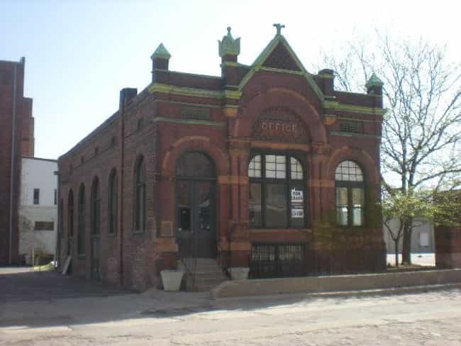 Anheuser-Busch Beer Depot is listed (or ranked) 3 on the list List of Famous Omaha Buildings & Structures
