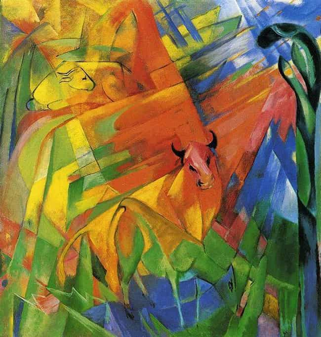 Animals in Landscape is listed (or ranked) 2 on the list Famous German Expressionism Artwork