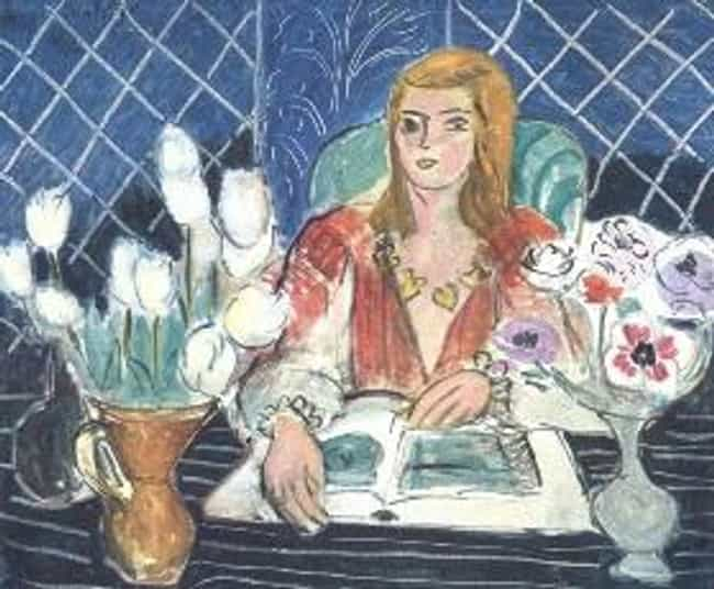 Annelies, White Tulips a... is listed (or ranked) 1 on the list Famous Henri Matisse Paintings