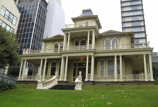 Antrim House is listed (or ranked) 1 on the list Famous Edwardian architecture buildings