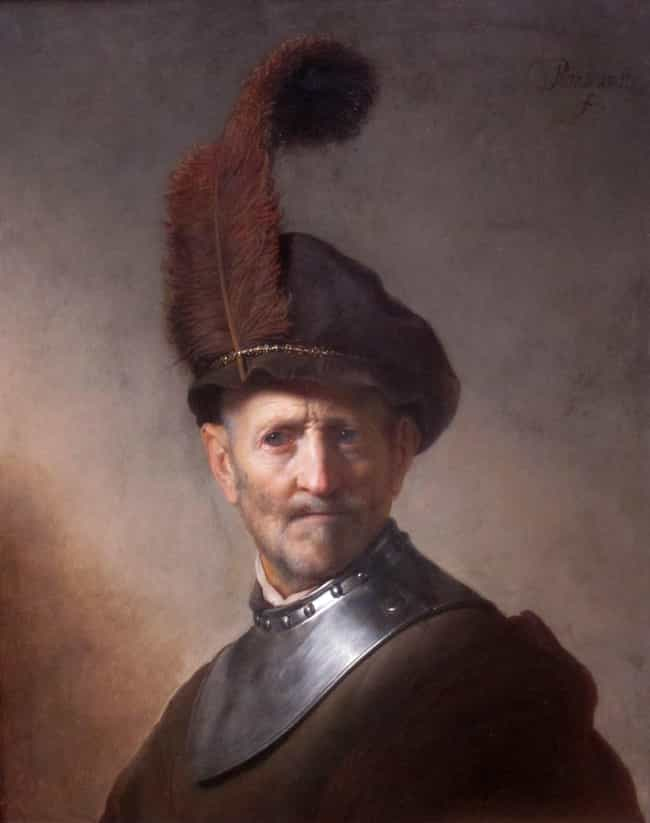 An Old Man in Military Costume is listed (or ranked) 2 on the list Famous Rembrandt Paintings
