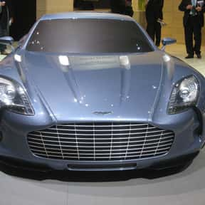 Aston Martin One-77 is listed (or ranked) 15 on the list The Ultimate Dream Garage