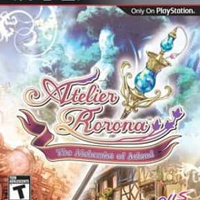 Atelier Rorona: The Alchemist  is listed (or ranked) 20 on the list List of All Role-playing Games
