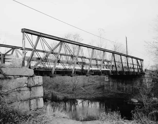 Atherton Bridge is listed (or ranked) 3 on the list Bridges in Massachusetts