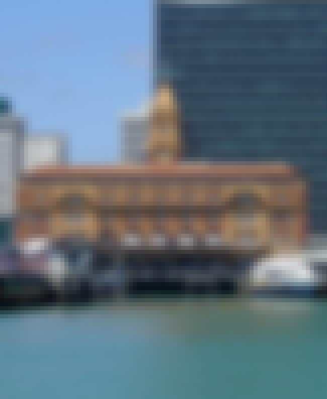 Auckland Ferry Terminal is listed (or ranked) 2 on the list Famous Edwardian Baroque architecture buildings