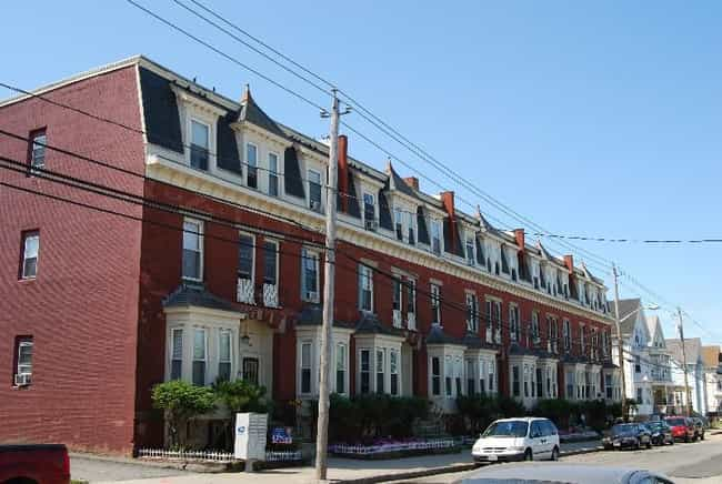 A. B. Chace Rowhouses is listed (or ranked) 1 on the list Fall River Architecture: Famous Landmarks and Buildings