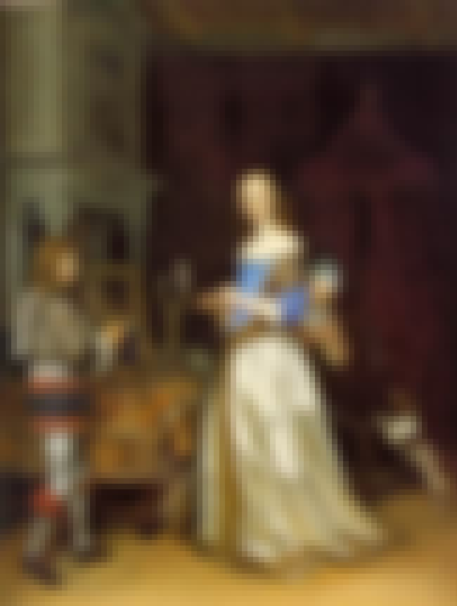 A Lady at Her Toilet is listed (or ranked) 1 on the list Famous Genre Paintings by Gerard Ter Borch