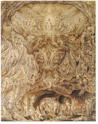 A Vision of the Last Judgment is listed (or ranked) 1 on the list Famous William Blake Paintings