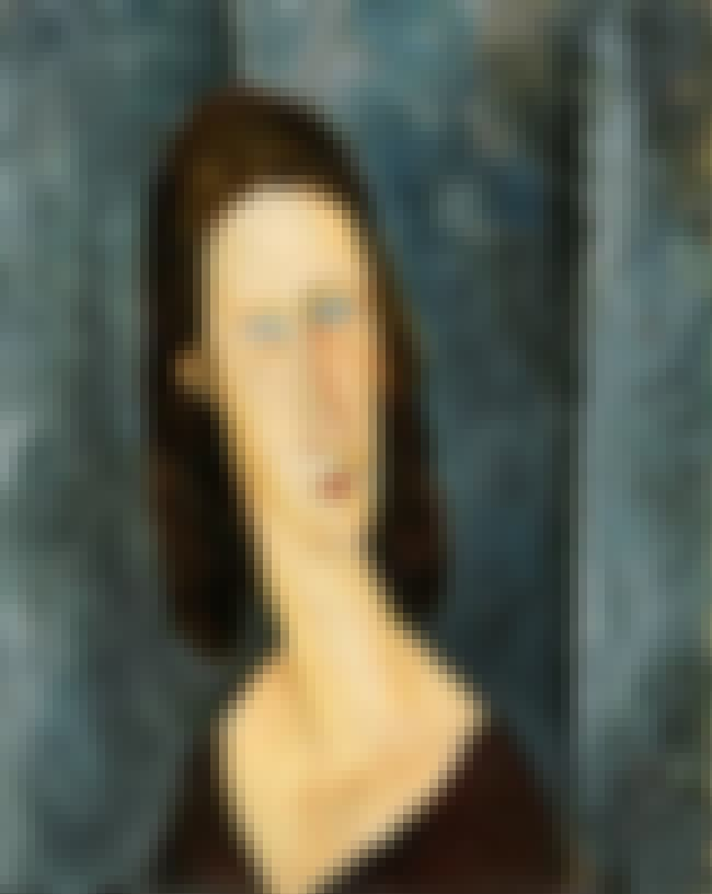 Blue Eyes (Portrait of Madame... is listed (or ranked) 2 on the list Famous Portraits by Amedeo Modigliani