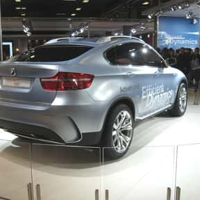 BMW Concept X6 ActiveHybrid is listed (or ranked) 9 on the list The Greenest Green Cars