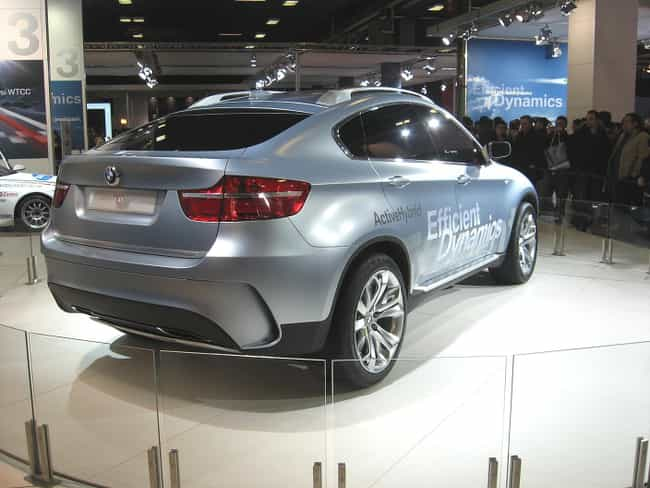 BMW Concept X6 ActiveHyb... is listed (or ranked) 4 on the list Full List of BMW Models