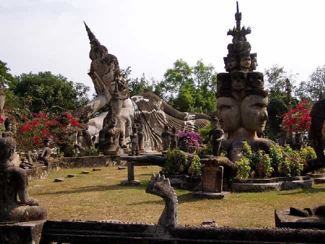Buddha Park is listed (or ranked) 3 on the list Famous Gautama Buddha Art
