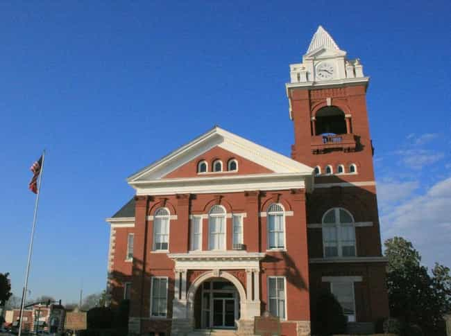Butts County Courthouse is listed (or ranked) 2 on the list List of Famous Jackson Buildings & Structures