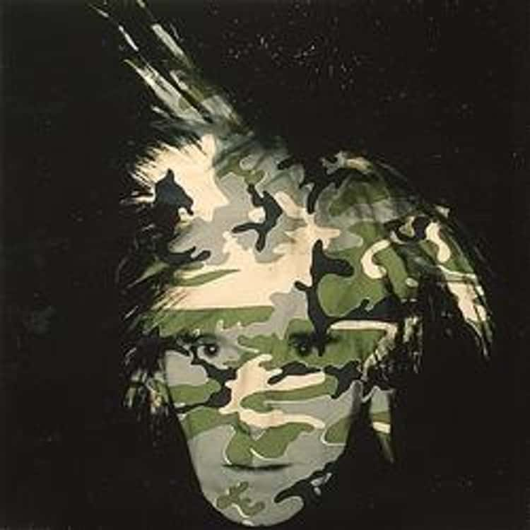 Camouflage Self-Portrait