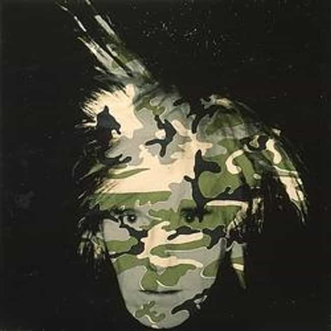 Camouflage Self-Portrait... is listed (or ranked) 2 on the list Famous Andy Warhol Paintings