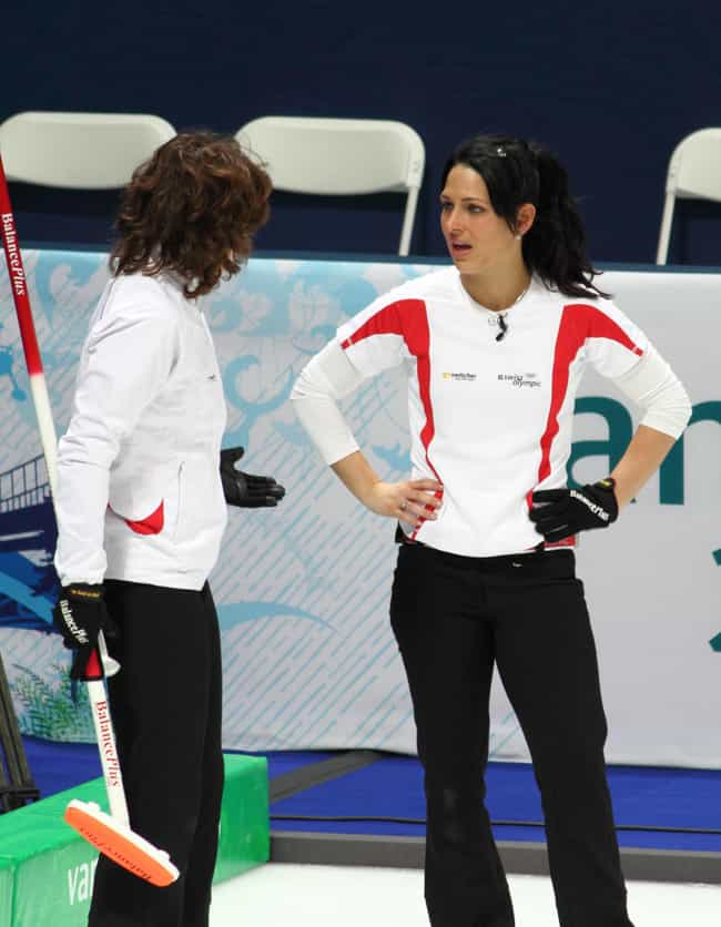 Carmen Schäfer is listed (or ranked) 1 on the list Famous Female Curlers