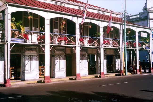 Casa de Fierro is listed (or ranked) 1 on the list List of Gustave Eiffel Architecture