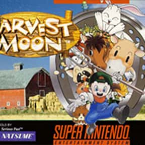 Harvest Moon is listed (or ranked) 17 on the list The Best Life Simulation Games of All Time