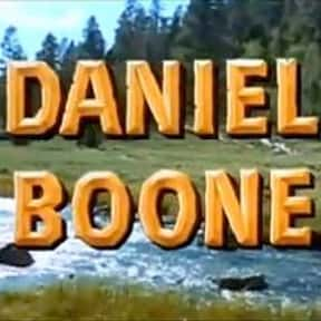 Daniel Boone is listed (or ranked) 23 on the list The Best 1970s Adventure TV Series