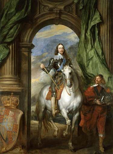 Charles I with M. de St Antoin is listed (or ranked) 2 on the list Famous Anthony van Dyck Paintings