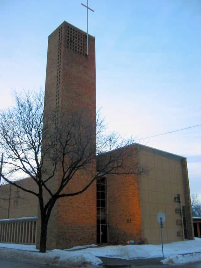 Christ Church Lutheran ... is listed (or ranked) 2 on the list Eliel Saarinen Architecture